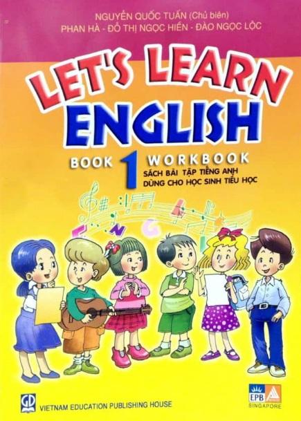 Tải sách: Let's Learn English Book 1 –  Nguyễn Quốc Tuấn