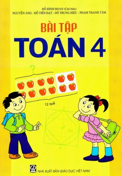 Tải sách: Bài Tập Toán Lớp 4