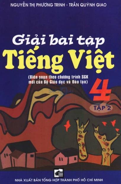 Tải sách: Giải Bài Tập Tiếng Việt 4 Tập 2