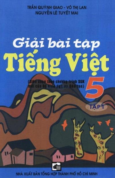 Tải sách: Giải Bài Tập Tiếng Việt 5 – Tập 1
