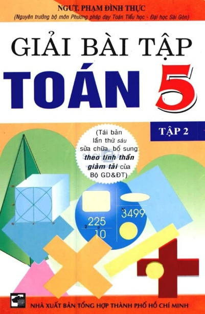 Tải sách: Giải Bài Tập Toán 5 Tập 2