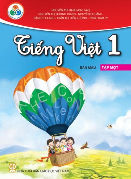 Tải sách: Trọn Bộ  Tiếng Việt Lớp 1 Tập 1, Tập 2 –( Cùng Học Để Phát Triển Năng Lực )