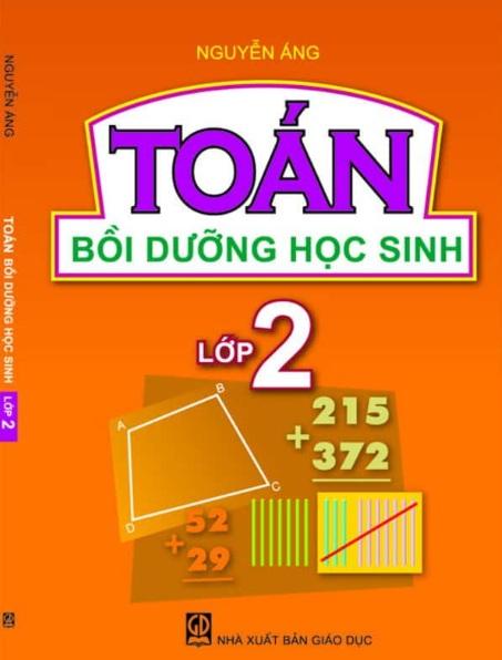 Tải sách: Toán Bồi Dưỡng Học Sinh Lớp 2 – Nguyễn Áng