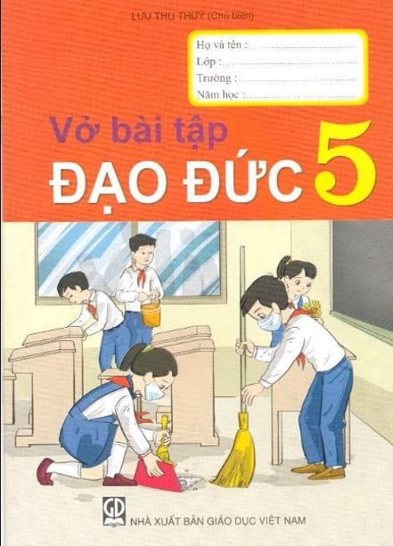 Tải sách: Vở Bài Tập Đạo Đức Lớp 5