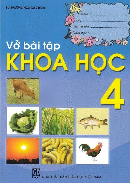 Tải sách: Vở Bài Tập Khoa Học Lớp 4