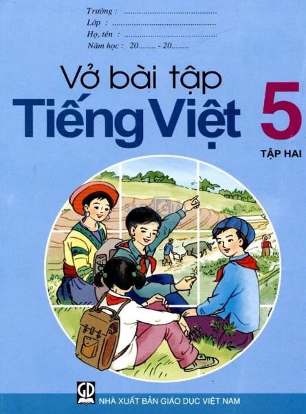Tải sách: Vở Bài Tập Tiếng Việt 5 Tập 2