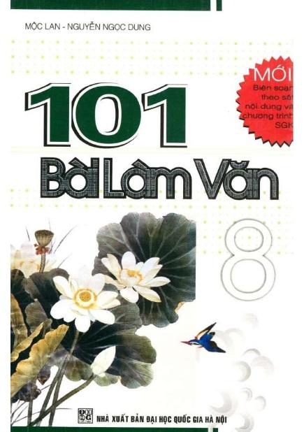 Tải sách: 101 Bài Làm Văn Lớp 8 – Mộc Lan (Mới nhất)