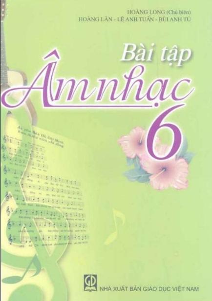 Tải sách: Bài Tập Âm Nhạc Lớp 6