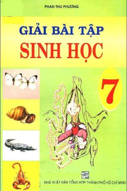 Tải sách: Giải Bài Tập Sinh Học 7 – Phan Thu Phương