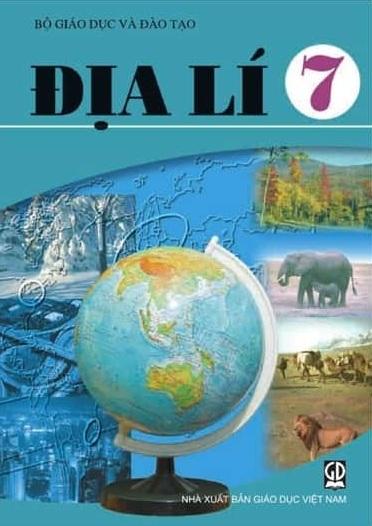 Tải sách: Sách Giáo Khoa Địa Lí Lớp 7