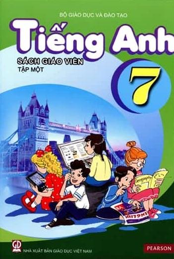 Tải sách: Sách Giáo Viên Tiếng Anh Lớp 7 Tập 1 , Tập 2