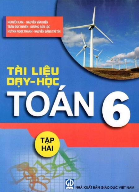 Tải sách: Tài Liệu Dạy Học Toán 6 Tập 2 Nguyễn Cam (Bản mới)