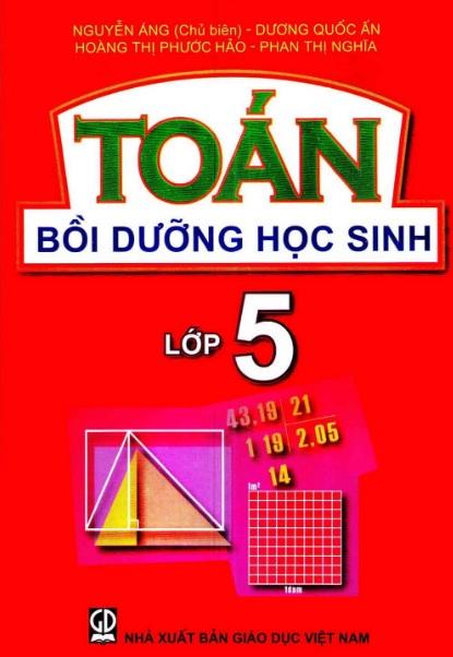 Tải sách: Toán Bồi Dưỡng Học Sinh Lớp 5 Nguyễn Áng