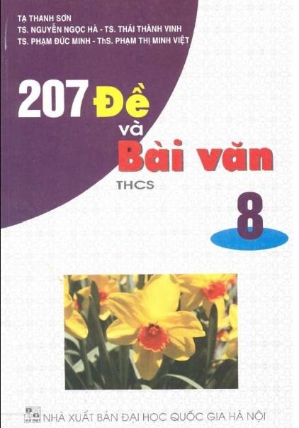 Tải sách: 207 Đề Và Bài Văn THCS 8 – Tạ Thanh Sơn