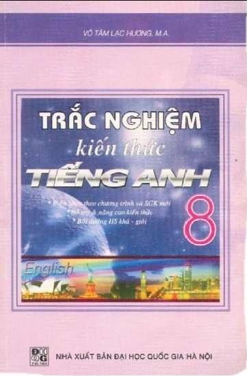 Tải sách: Trắc Nghiệm Kiến Thức Tiếng Anh 8 – Võ Tâm Lạc Hương (Bản Mới)