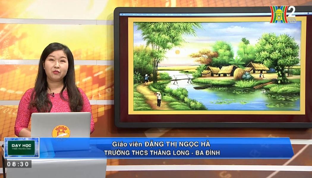 Tải sách: Bài 21 Phương Pháp Tả Cảnh – Tiếng Việt 6
