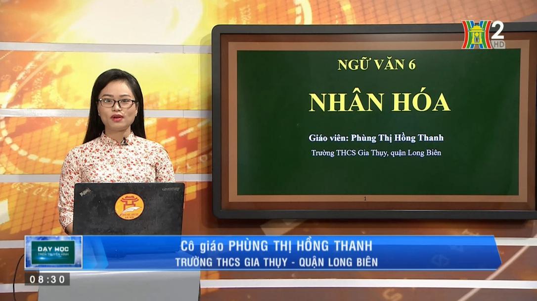 Tải sách: Bài 22 Nhân Hóa – Tiếng Việt 6