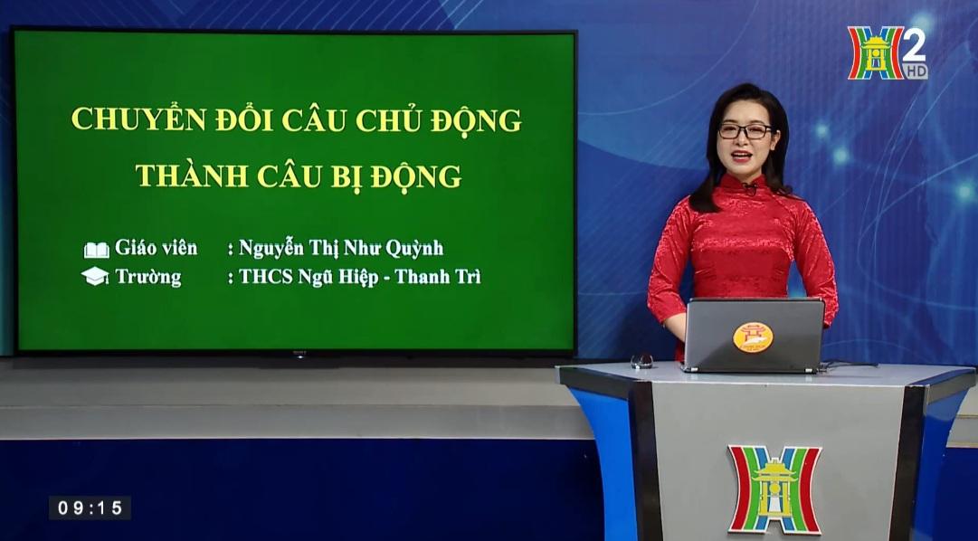 Tải sách: Bài 23 : Chuyển Đổi Câu Chủ Động Thành Câu Bị Động – Tiếng Việt 7