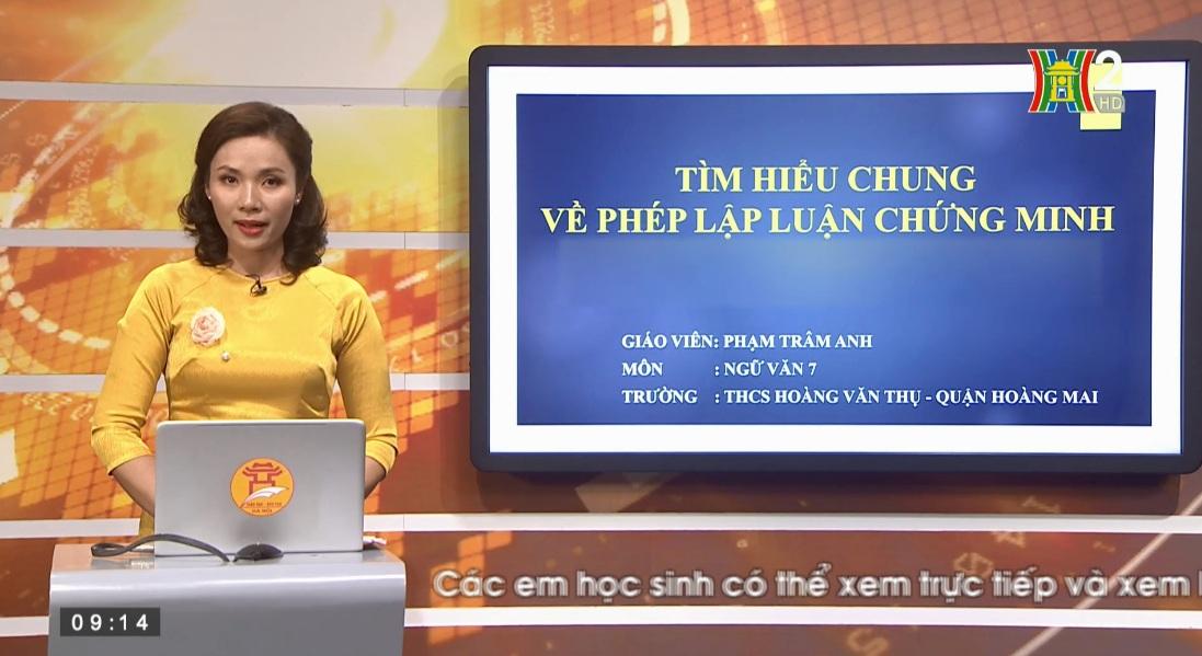 Tải sách: Bài 23 : Tìm Hiểu Chung Về Phép Lập Luận Chứng Minh – Tiếng Việt 7