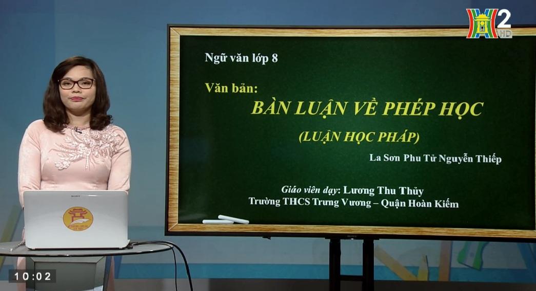 Tải sách: Bài 25 : Bàn Về Phép Học – Tiếng Việt 8