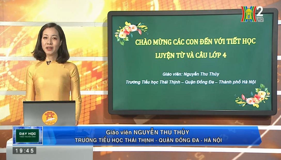 Tải sách: Tuần 23 : Luyện Từ Và Câu : Dấu Gạch Ngang Tiếng Việt 4