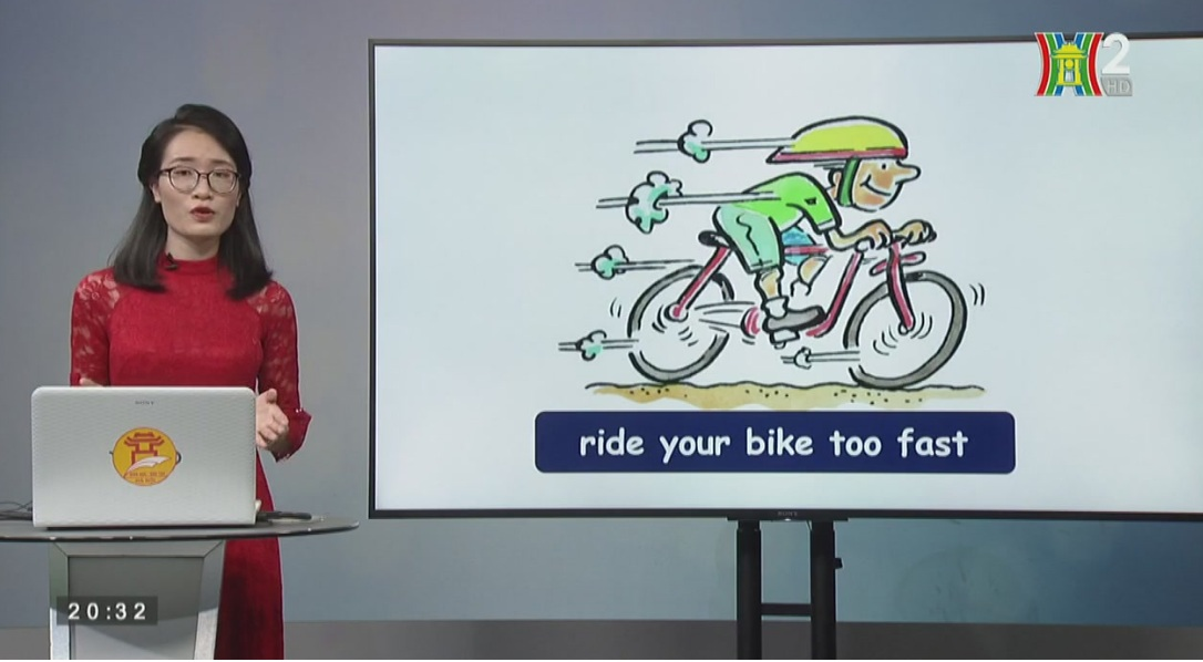 Tải sách: Unit 12: Don't Ride Your Bike Too Fast ? ( Lesson 2 -tiết 2) – Tiếng Anh Lớp 5