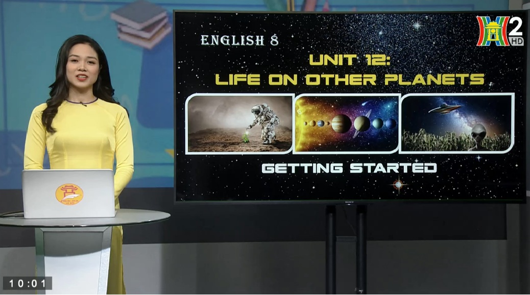 Tải sách: Unit 12 : Life on other planets – Getting started – Tiếng Anh 8