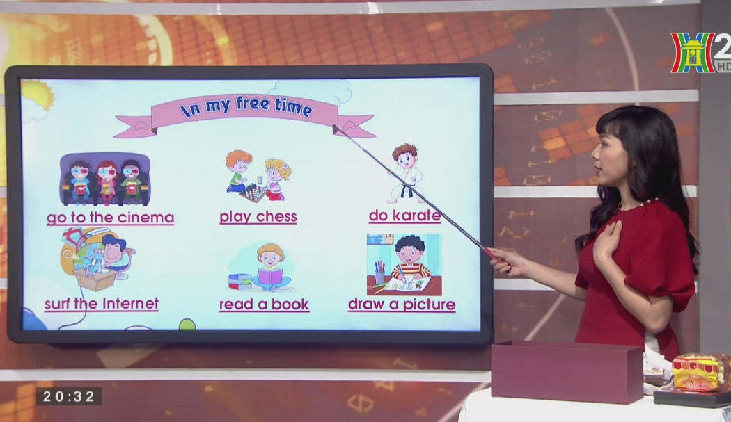 Tải sách: Unit 13 What do you do in your free time ? – Lesson 2 Tiếng Anh lớp 5