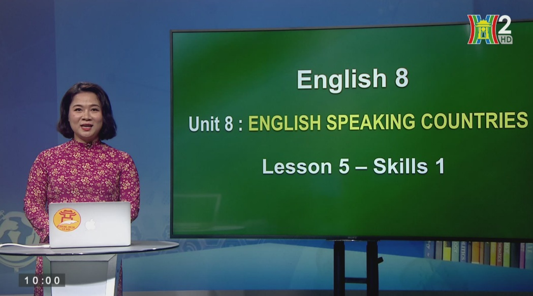 Tải sách: Unit 8: ENGLISH SPEAKING COUNTRIES (Lesson 5: Skills 1) – Tiếng Anh 8