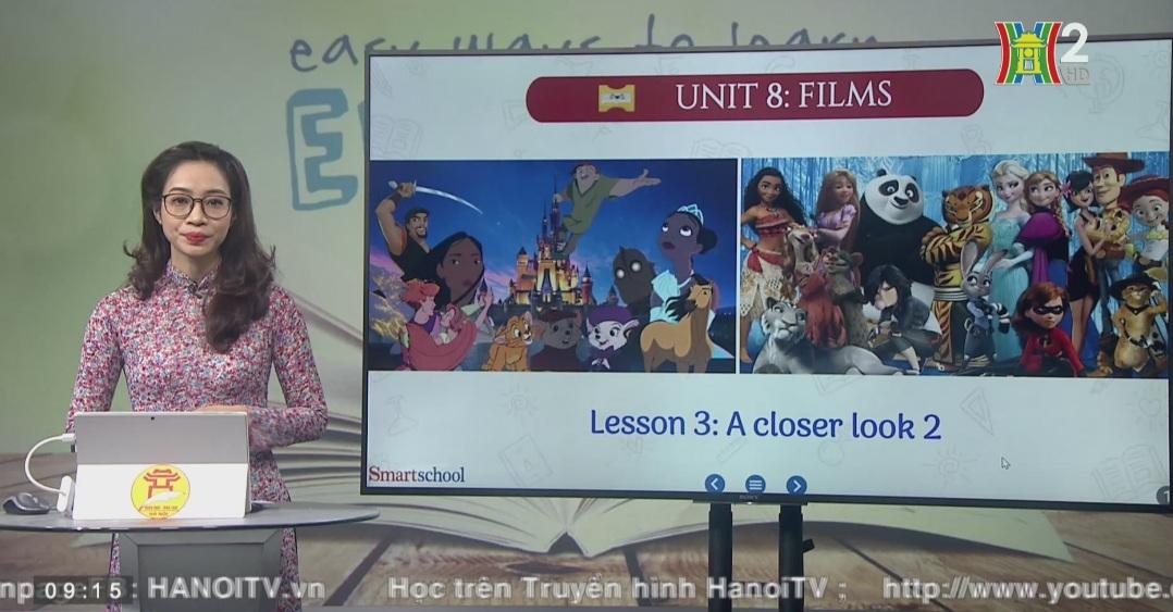 Tải sách: Unit 8 : FILMS (Lesson 2: A Closer look 2) – Tiếng Anh 7