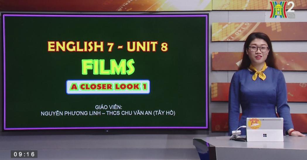 Tải sách: Unit 8 : FILMS (Lesson 2: A Closer look 1) – Tiếng Anh 7