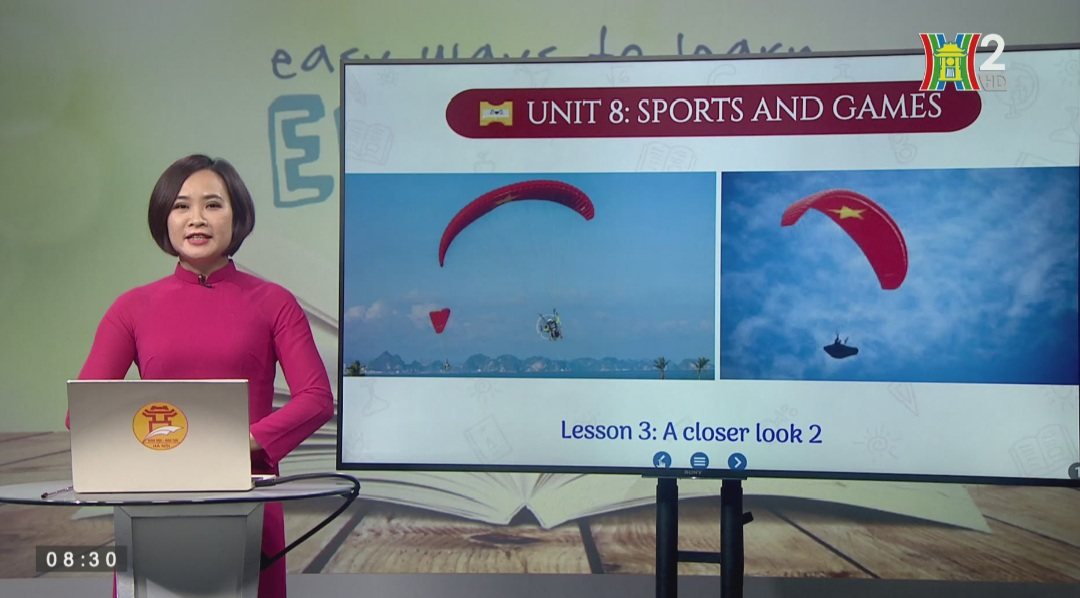 Tải sách: Unit 8 – SPORT AND GAMES (Lesson 3: A Closer Look 2) – Tiếng Anh 6