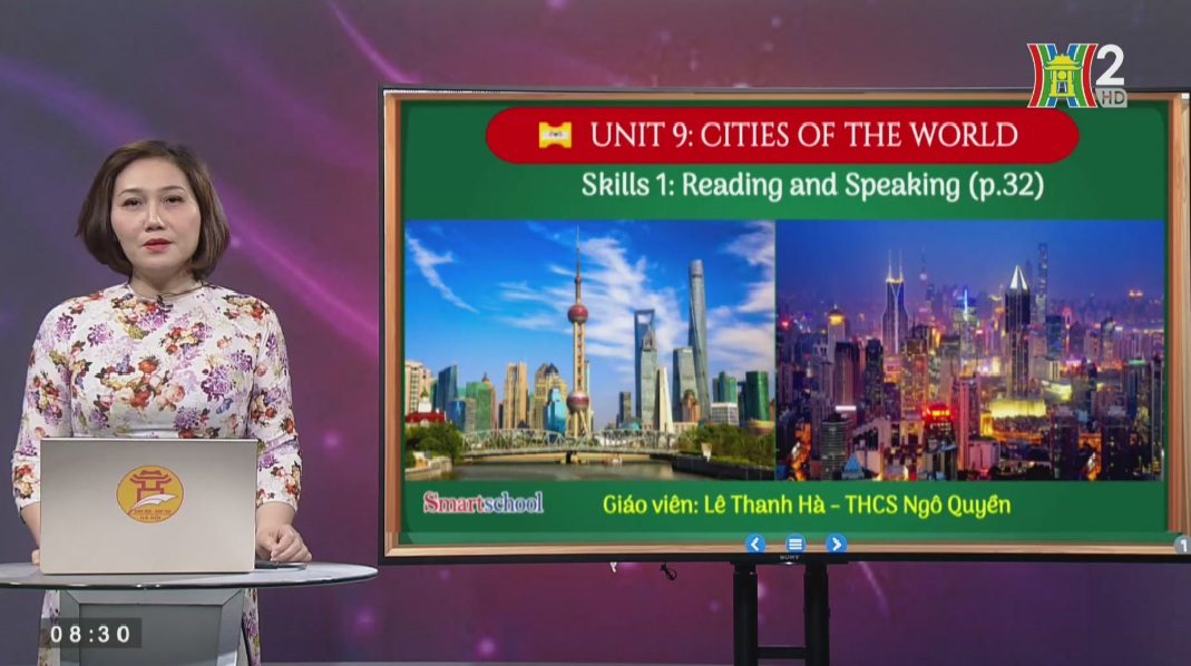 Tải sách: Unit 9 – CITIES OF THE WORLD (Skills 1) – Tiếng Anh 6