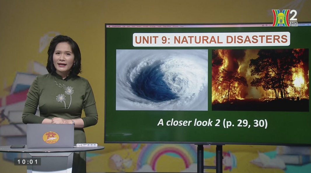 Tải sách: Unit 9 – NATURAL DISASTERS (A Closer Look 2) – Tiếng Anh 8