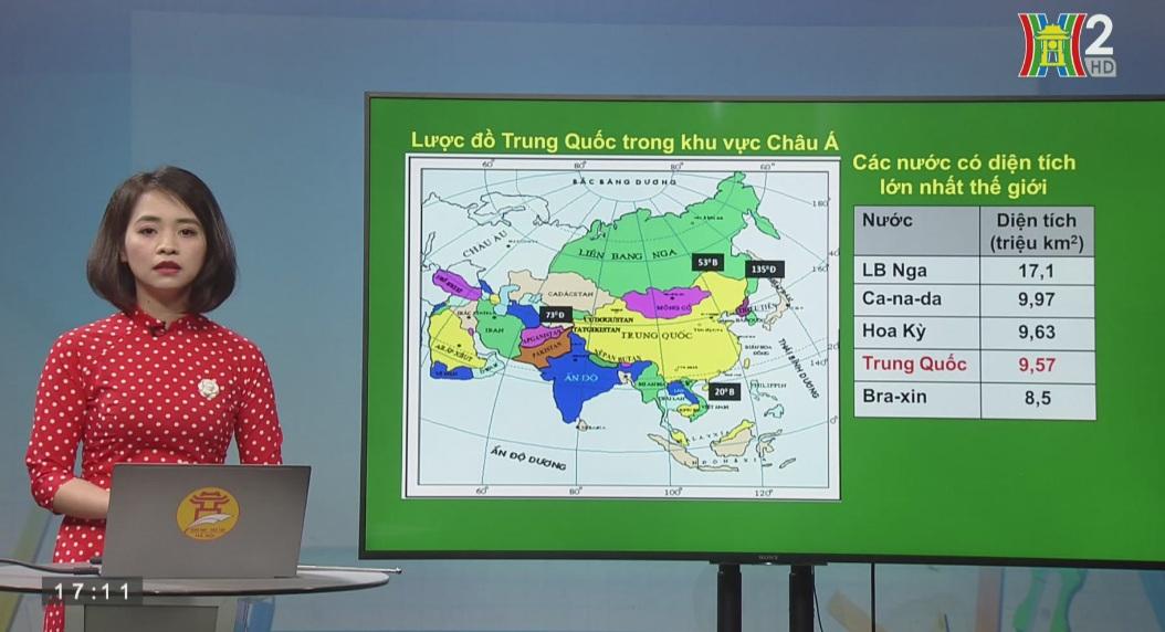 Tải sách: Bài 10 : Cộng Hòa Nhân Dân Trung Hoa (Trung Quốc) (Tiết 1) – Địa Lí 11