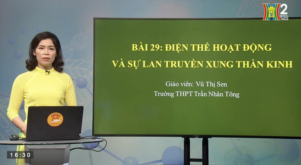 Tải sách: Bài 29 : Điện Thế Hoạt Động Và Sự Lan Truyền Xung Thần Kinh – Sinh Học 11
