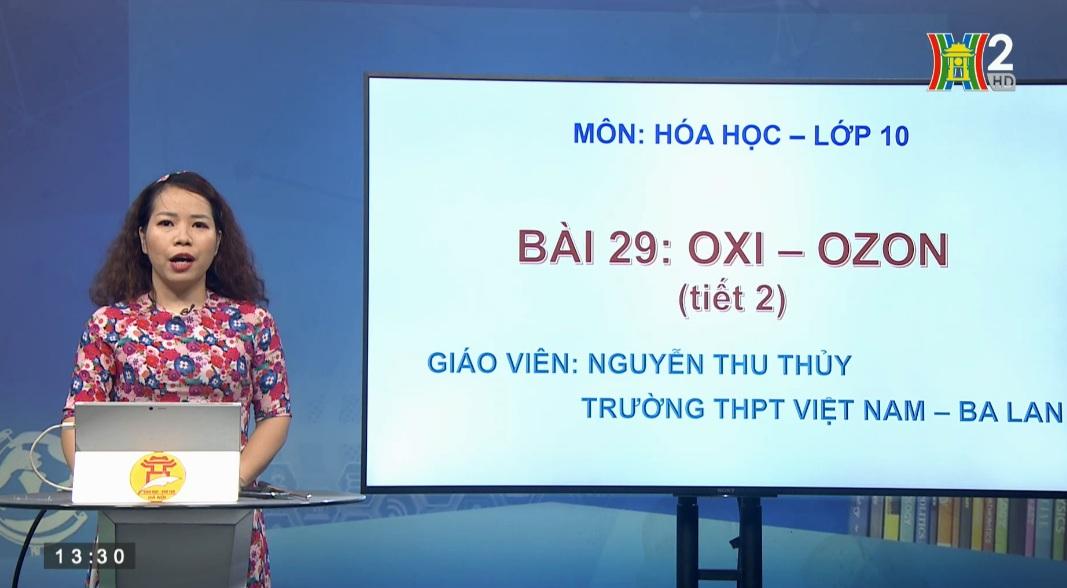 Tải sách: Bài 29: Oxi – Ozon ( Tiết 2 ) – Hóa Học 10