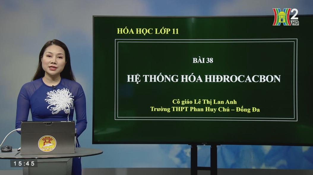 Tải sách: Bài 38 : Hệ Thống Hóa Về Hiđrocacbon – Hóa Học 11