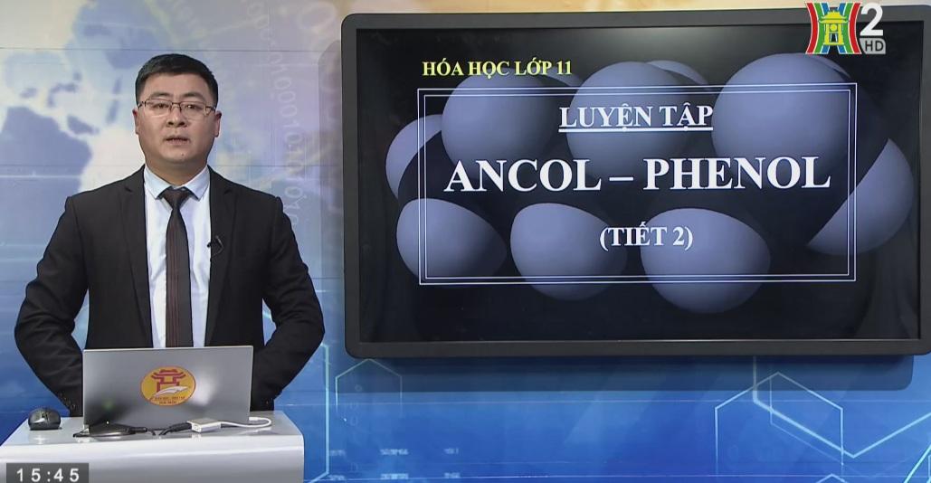 Tải sách: Bài 42 : Luyện Tập Ancol – Phenol (Tiết 2) – Hóa Học 11