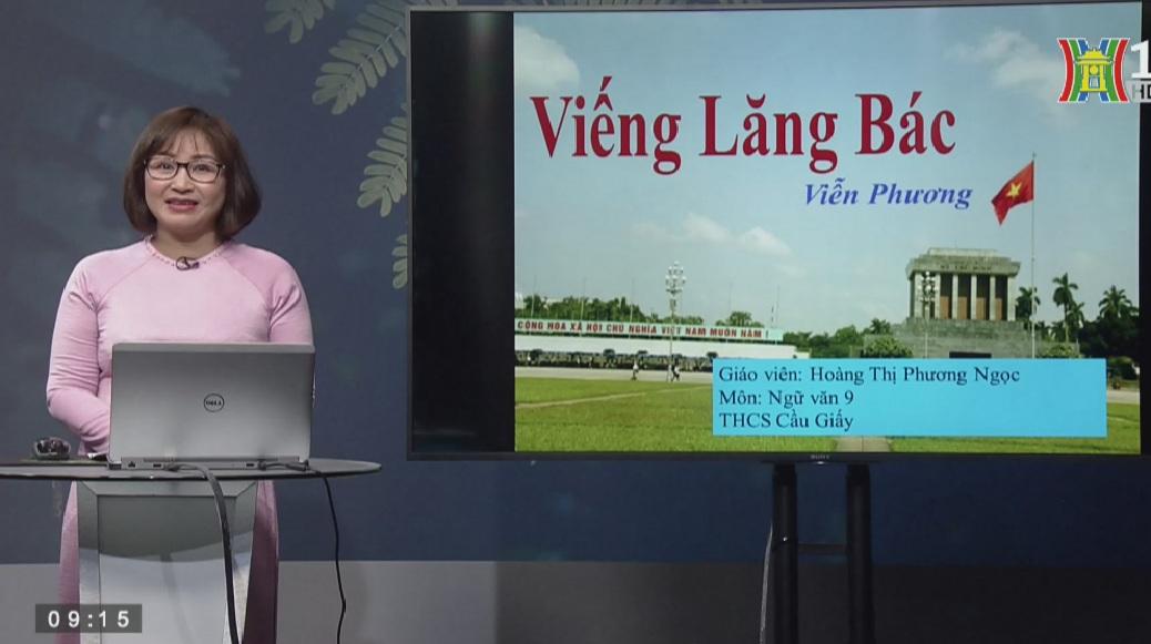 Tải sách: Bài Thơ : Viếng Lăng Bác -Tiếng Việt 9
