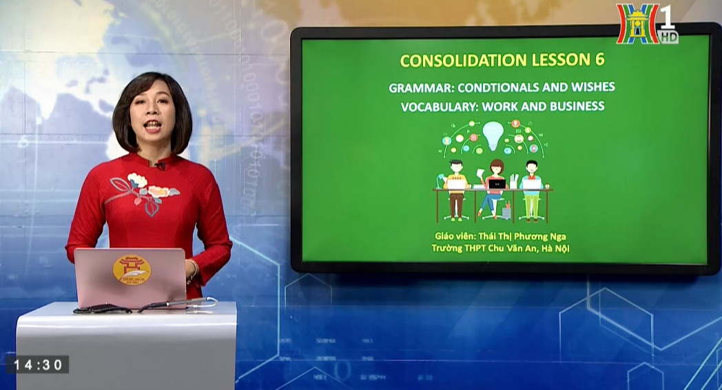 Tải sách: Consolidation 6 Wish – Topic Work and business – Tiếng Anh 12