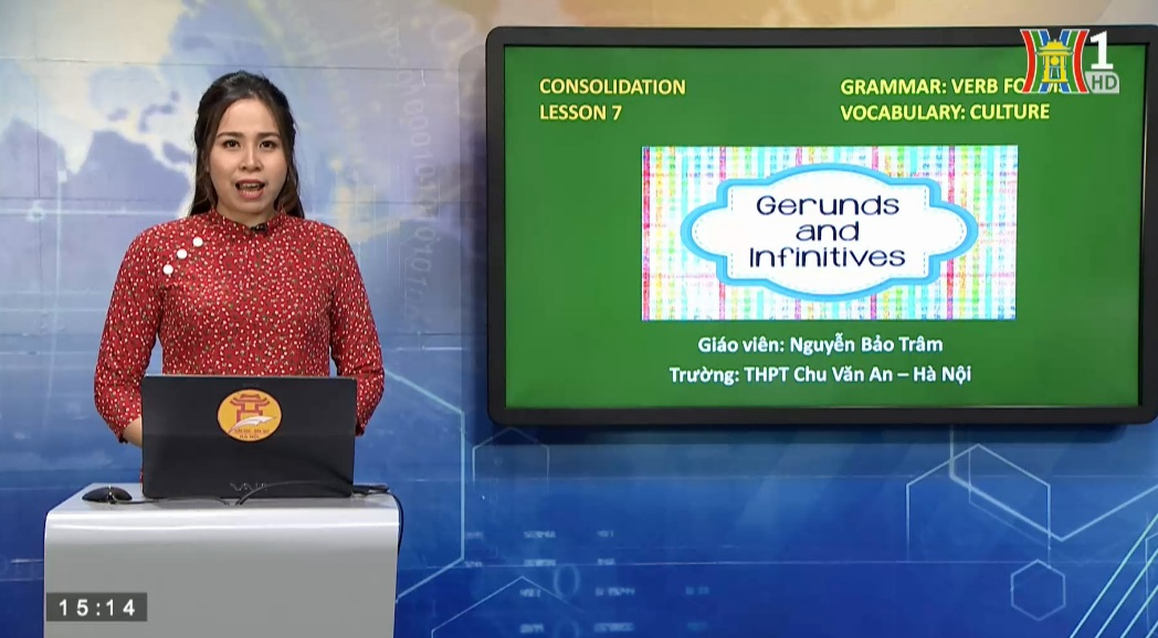 Tải sách: Consolidation 7 Verb forms – Topic Culture – Tiếng Anh 12