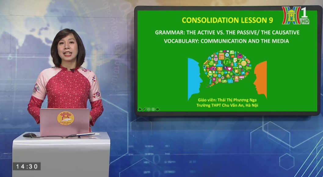 Tải sách: Consolidation lesson9 Active vs Passive/ The Causative – Tiếng Anh 12
