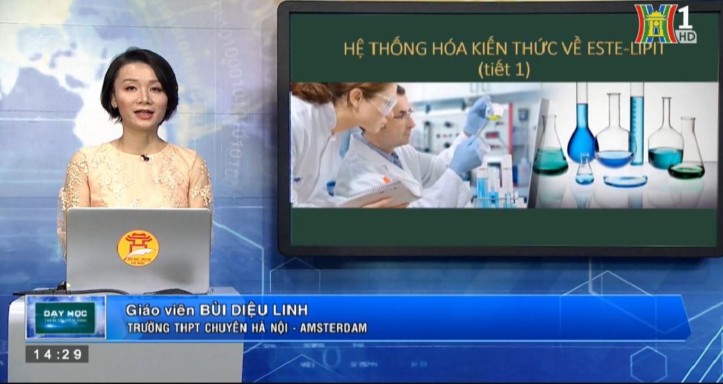 Tải sách: Hệ Thống Hoá Kiến Thức Về Este – Lipid (Tiết 1) – Hóa Học 12