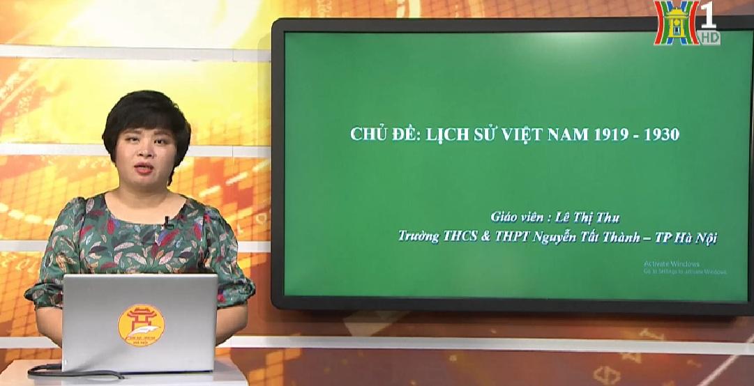 Tải sách: Lịch Sử Việt Nam 1919 – 1930 – Lịch Sử 12
