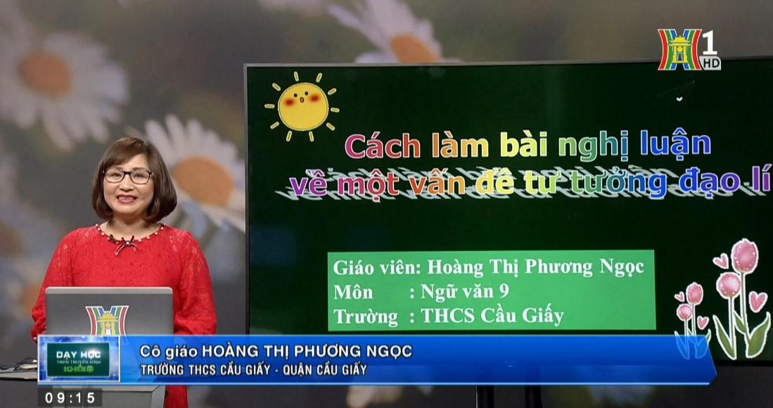 Tải sách: Nghị  Luận Về Một Vấn Đề Tư Tưởng , Đạo Lí – Tiếng Việt 9