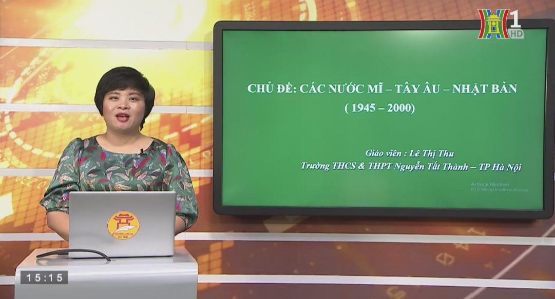 Tải sách: Ôn Tập Chủ Đề Các Nước Mĩ, Tây Âu, Nhật Bản (1945-2000) – Lịch Sử 12