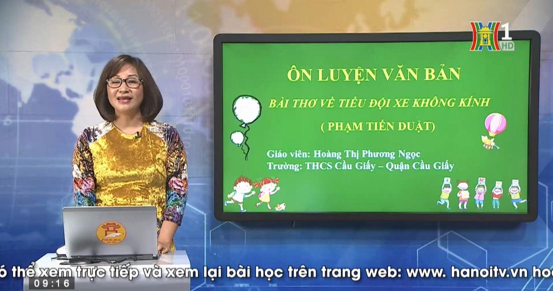 Tải sách: Ôn Tập Thơ Hiện Đại – Bài Thơ Về Tiểu Đội Xe Không Kính – Tiếng Việt 9