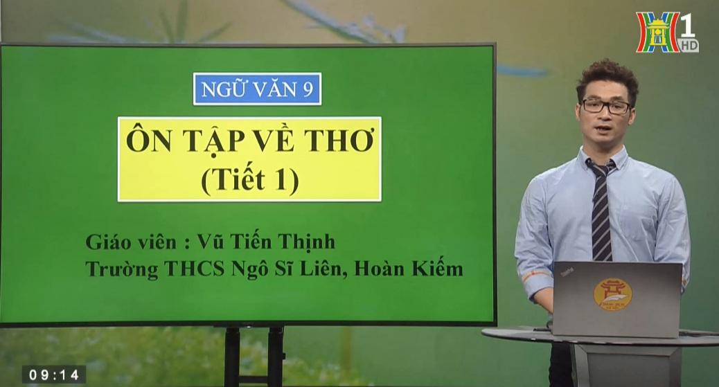 Tải sách: Ôn Tập Về Thơ – Tiết 1 – Tiếng Việt 9