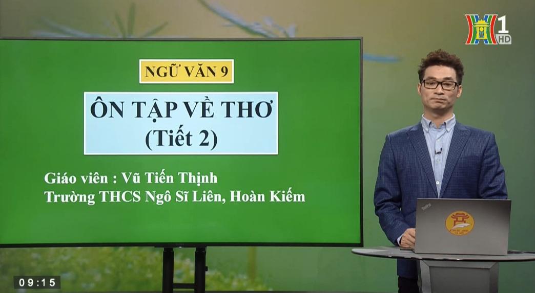 Tải sách: Ôn Tập Về Thơ – Tiết 2 – Tiếng Việt 9